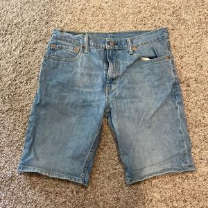Men's Levi's 511 Denim Shorts Jeans Sz 32 Blue